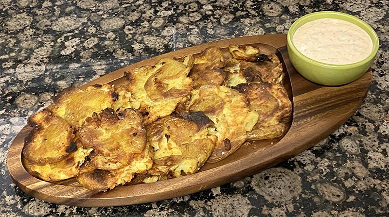 Spiced Potatoes and Aioli